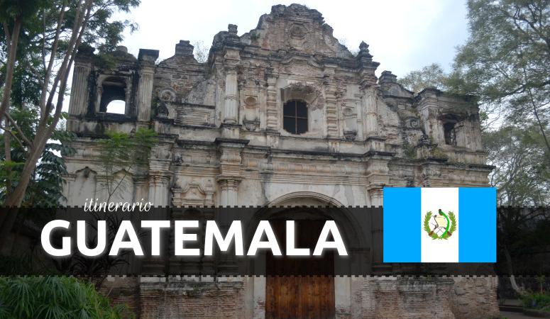 Itinerario por Guatemala