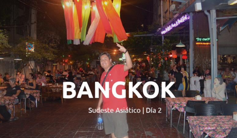Llegada a Bangkok, Tailandia.