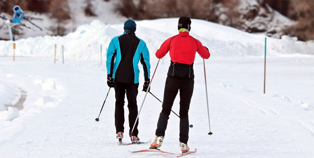12 - Here are 4 types of skiing you can learn