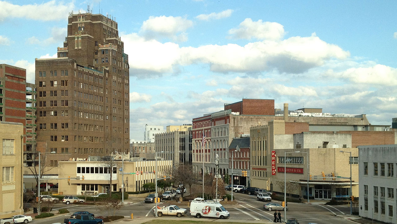 Downtown_Meridian_from_City_Hall