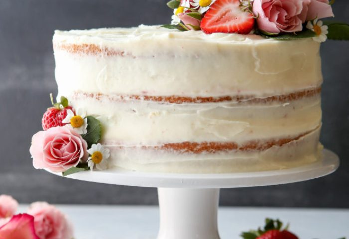 Strawberry Layer Cake Completely Delicious