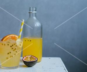 Orange and Ginger Detox Drink