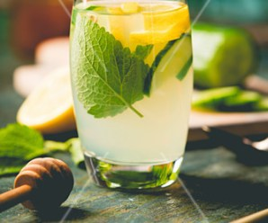 Cucumber, Lemon, and Dill Water