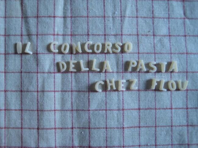 concours pâtes flou 2011 lou complètement flou