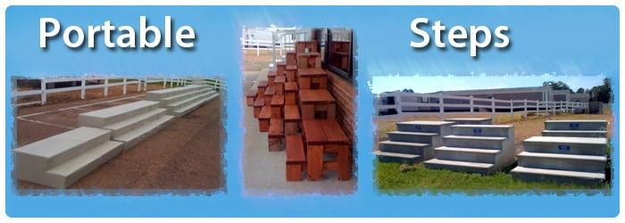 Wooden Concrete Fiberglass Steps For Mobile Homes   Outside Stairs For Mobile Home   Front Door   Wood   Trailer   Fiberglass   Decks