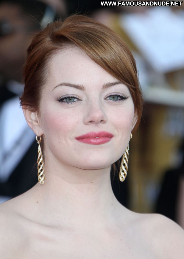 Emma Stone Celebrity Cute Actress Sexy Dress Sexy Redhead Beautiful