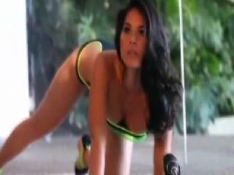 Olivia Munn Sexy Scene Model Softcore Athletic Slender Babe