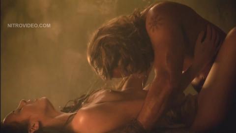 Delaney Tabron Nude Scene Spartacus Vengeance Libertus Wet