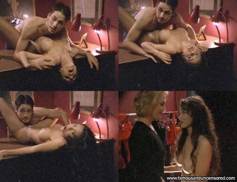Lorissa Mccomas Hard As Nails Nails Desk Topless Posing Hot