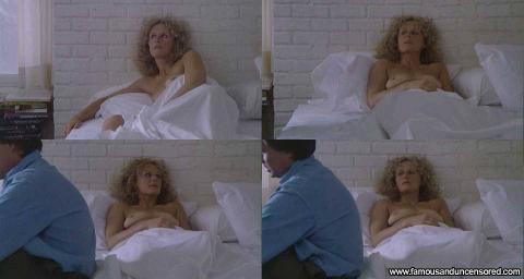 Glenn Close Fatal Attraction Fat Bed Beautiful Cute Gorgeous