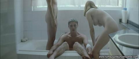 Aggeliki Papoulia Nude Sexy Scene Dogtooth Bathroom Ass Cute