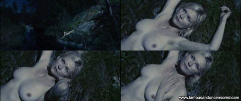 Kirsten Dunst Nude Sexy Scene Melancholia River Female Cute