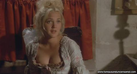 Drew Barrymore Bad Girls Showing Cleavage Office Desk Couple