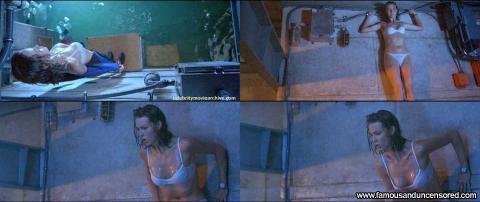 Saffron Burrows Nude Sexy Scene Sea Wet Nice Panties Bra Hd