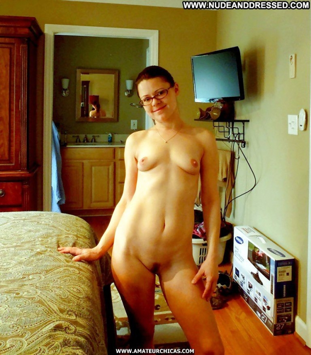 Several Amateurs Geek Nude Softcore Dressed And Undressed