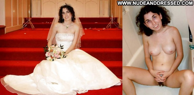 Several Amateurs Amateur Softcore Nude Bride Dressed And Undressed