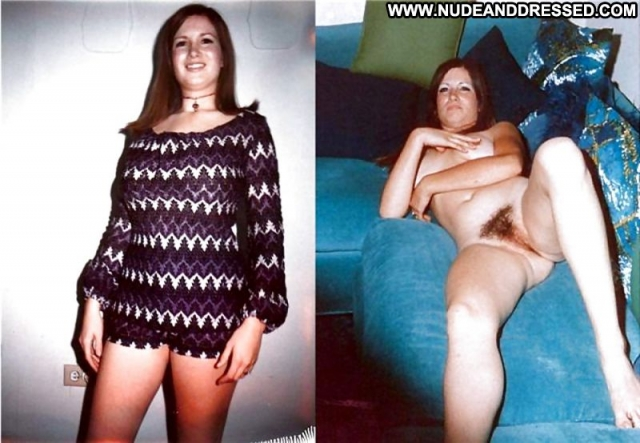 Several Amateurs Hairy Pussy Dressed And Undressed Nude Softcore