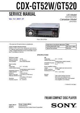 Sony Cdx Gt270mp Wiring Diagram. Sony M 610 Wiring Harness Diagram ...
