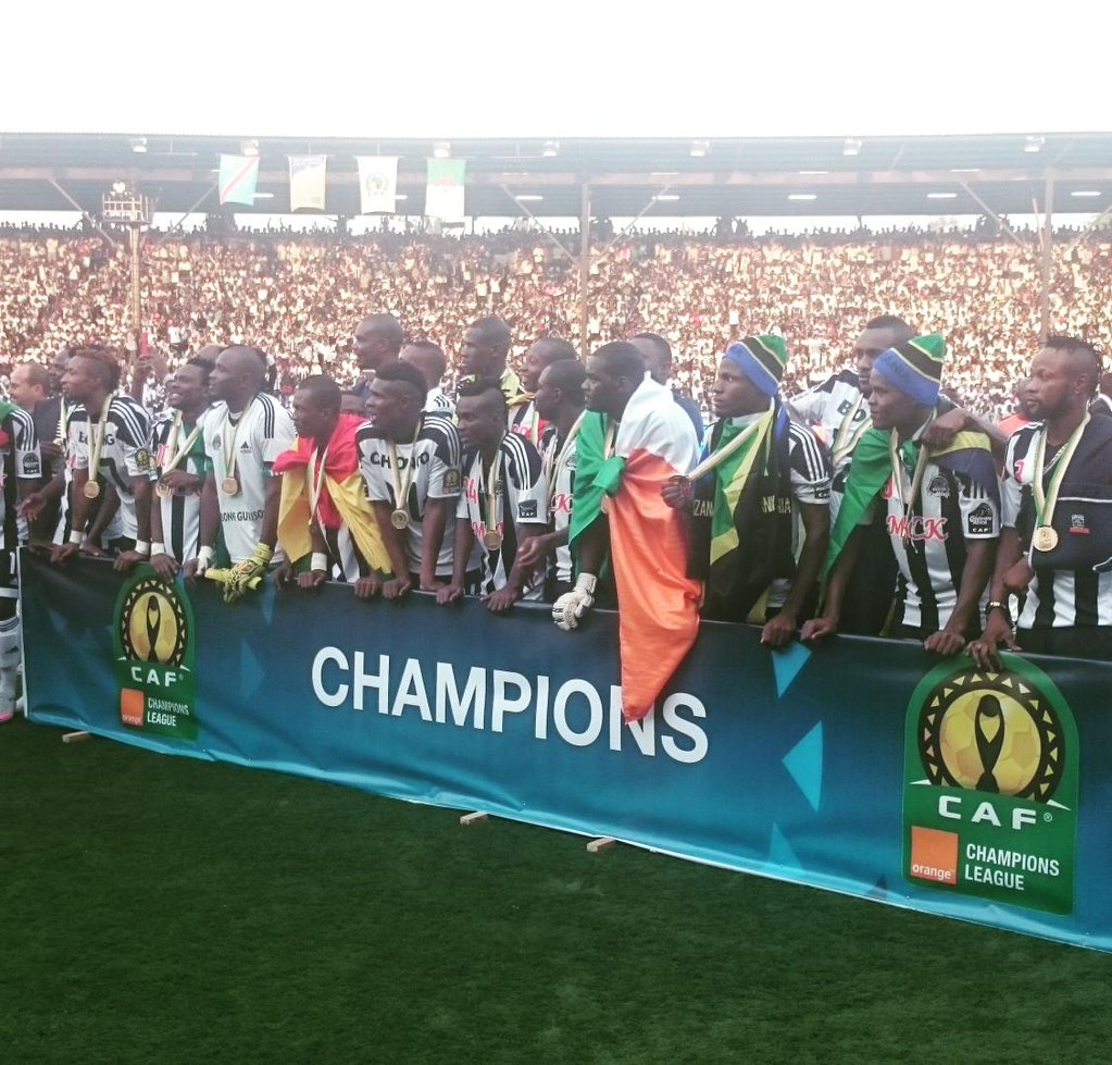 TP Mazembe Overcome USM Alger, Claim 5th CAF Champions League Title