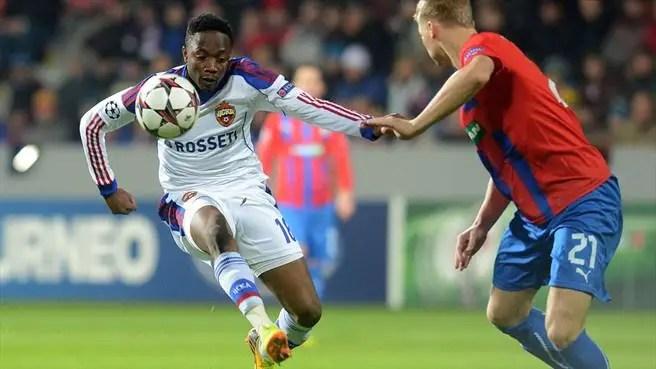 Champions League: Musa Boasts CSKA Will Beat Wolfsburg