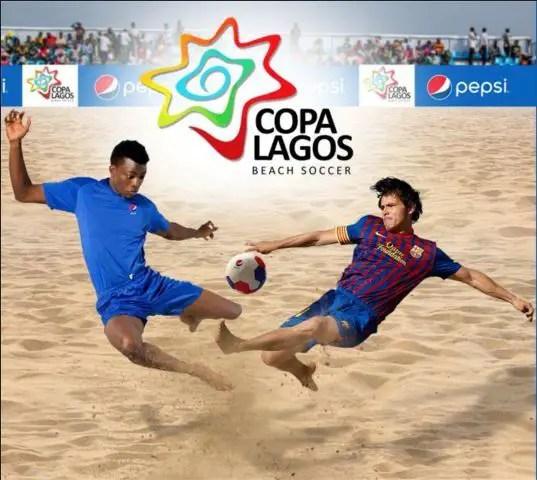 Copa Lagos: CIV Sink Super Sand Eagles, Barca Bash 3SC