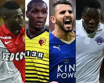 Omeruo, Ighalo, Mahrez, Echiejile In African Team Of The Week