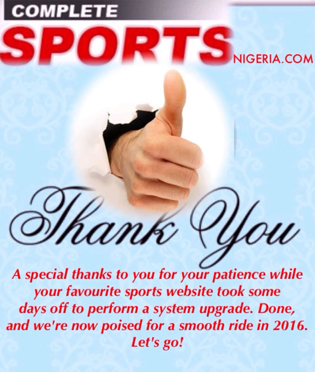 Completesportsnigeria.com Back And Better
