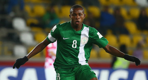 German Club In For Eaglets Star Chukwueze
