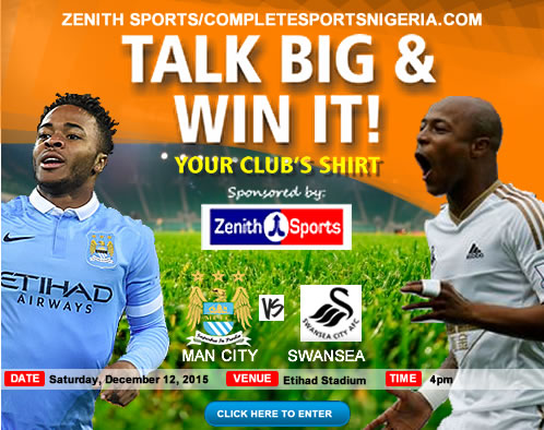The Winners: Man City Vs Swansea City, Talk Big & Win It!