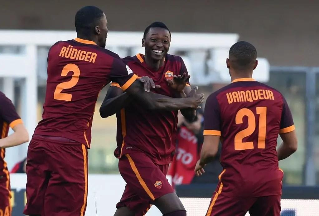 Nigerian Youngster Umar Sadiq Scores Again For Roma