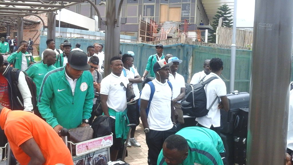 Home Eagles Land In Kigali For CHAN