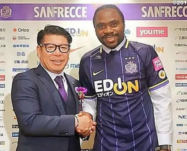 Utaka Delighted To Join Sanfrecce Hiroshima