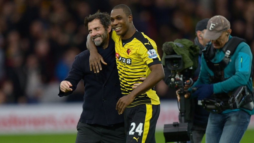 Watford Coach Has No Adebayor Regrets, Backs Ighalo's Partner For Euros