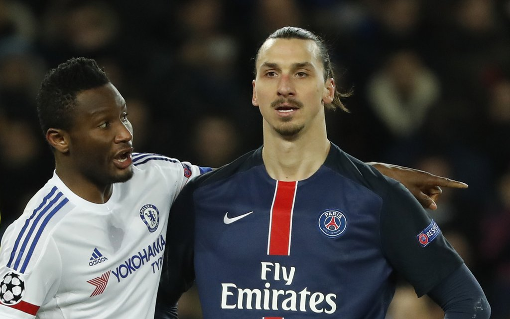 Rio Blasts Mikel For Ibrahimovic Goal Vs Chelsea