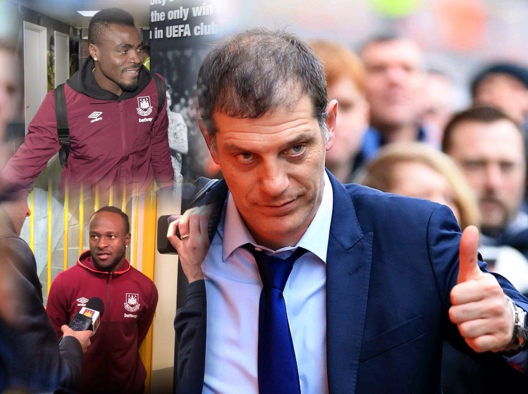 Bilic Thumbs Up Moses,  Emenike's Contributions Against Norwich