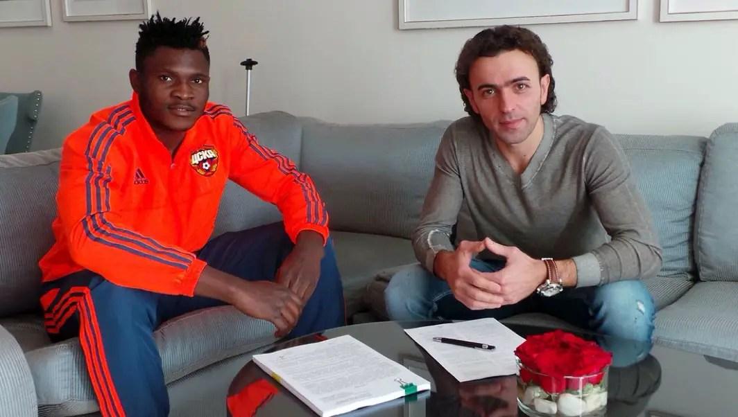 CSKA Confirm Aaron Samuel Loan Move