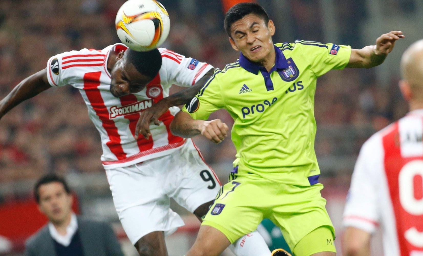Europa League:  Ideye In Action As Olympiakos Lose To Anderlecht