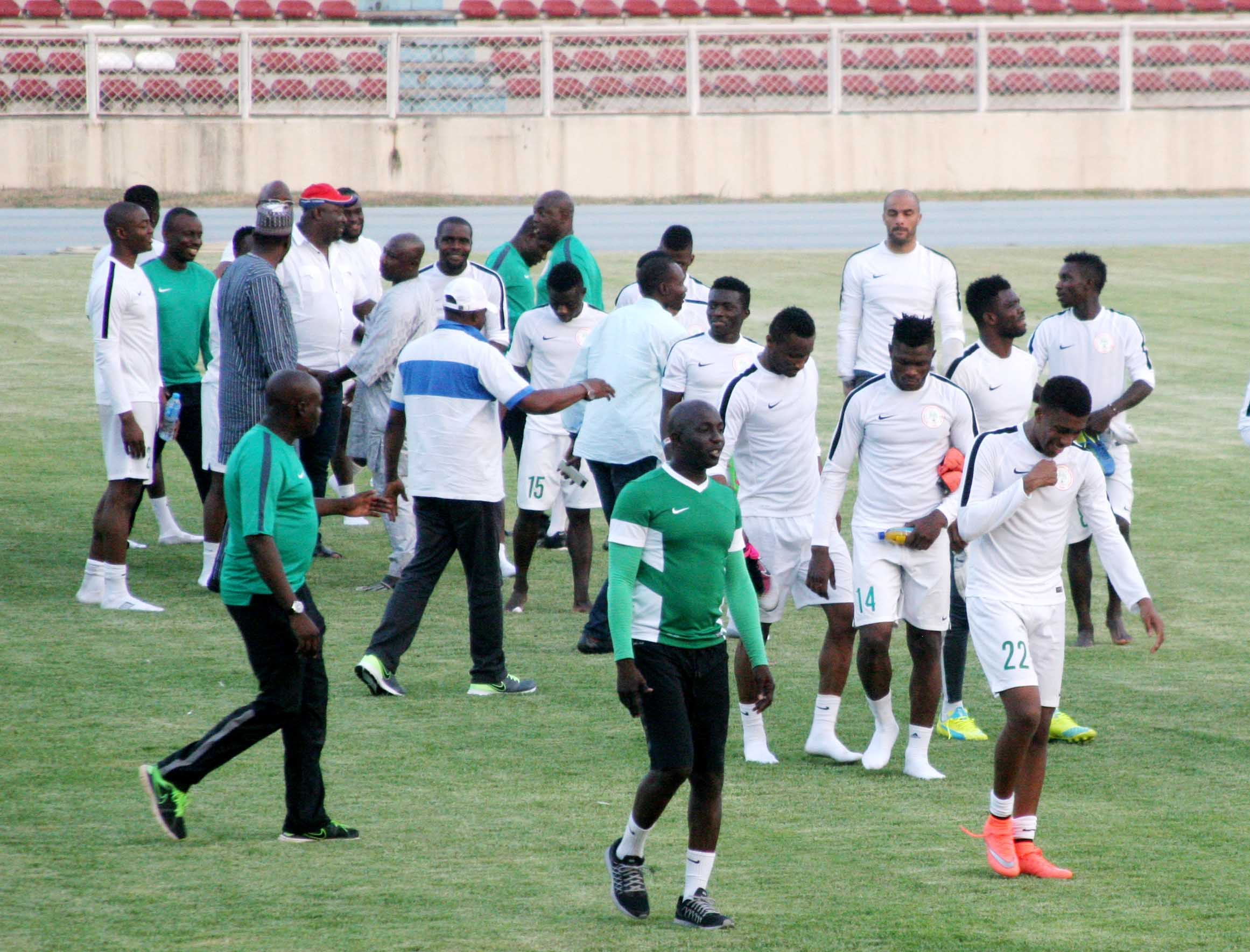 Echiejile: Eagles Are Not Facing Only Salah, Elneny