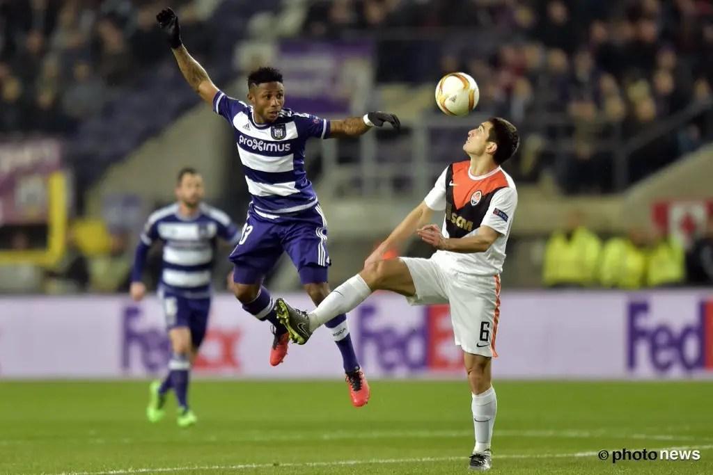 Europa League: Ezekiel Impressive, But Anderlecht Bow To Shakhtar