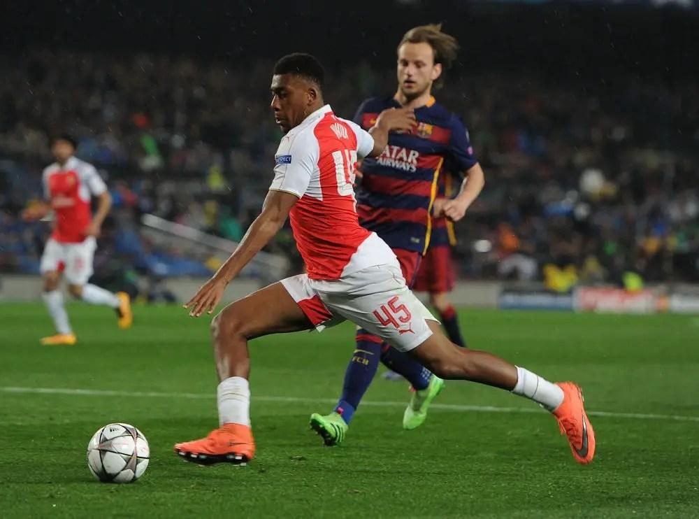 Wenger Awed By Iwobi's Rapid Development