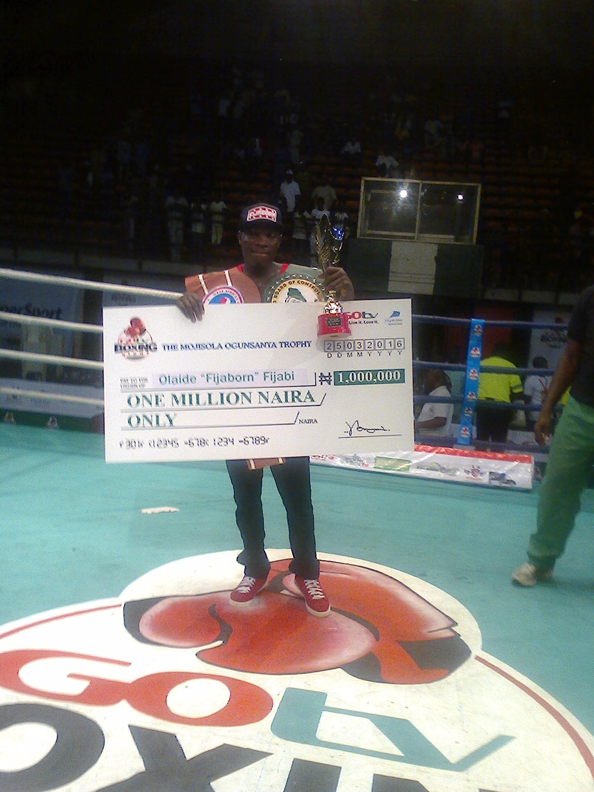 Fijabi Is 3rd-Time GOtv Boxing Night Champion, Retains West African Title