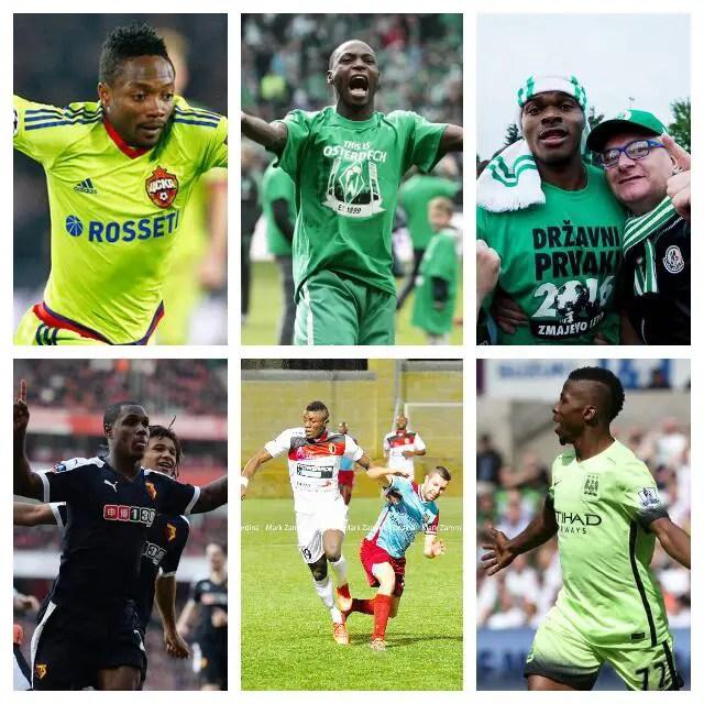 Nigeria's Finest Footballing Talent In Europe