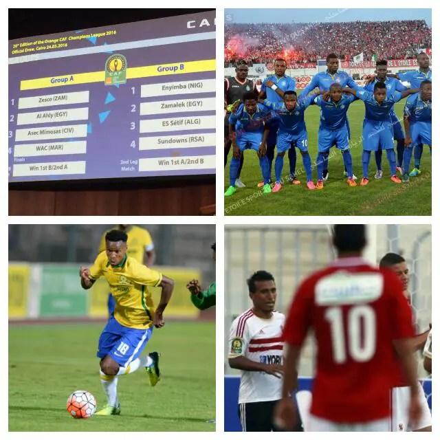 Enyimba Draw Zamalek, Setif, Sundowns In Tough CAFCL Group