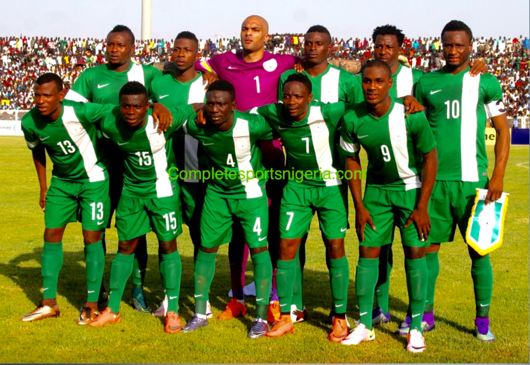 Amodu Denied French Visa As Eagles Leave For Mali, Luxembourg Friendlies