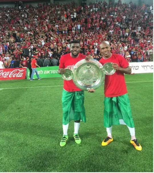 Israel Champions!: Ogu, Nwakaeme Savour League Title Win
