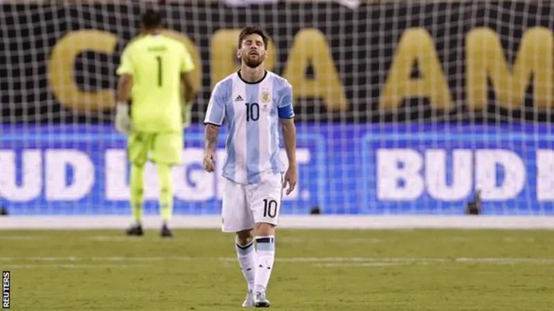 FIFA Lift Messi's Four-Match Argentina Ban