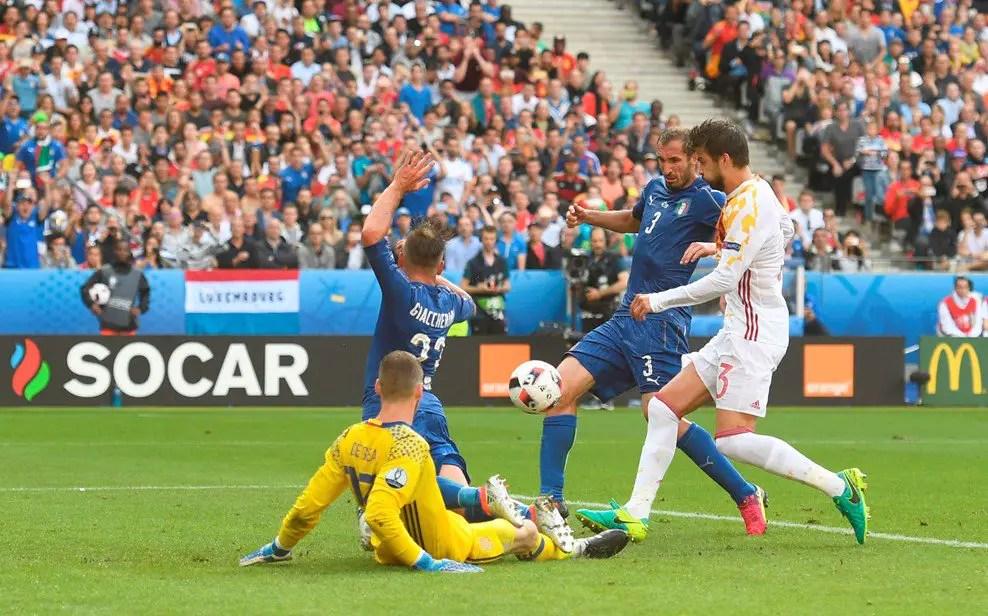 Italy Outclass Spain To Reach Quarter-Finals