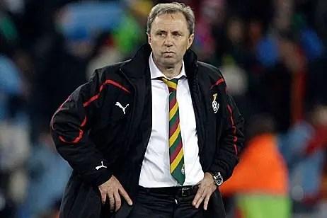 Algeria Appoint Ex-Ghana Boss Rajevac As New Coach