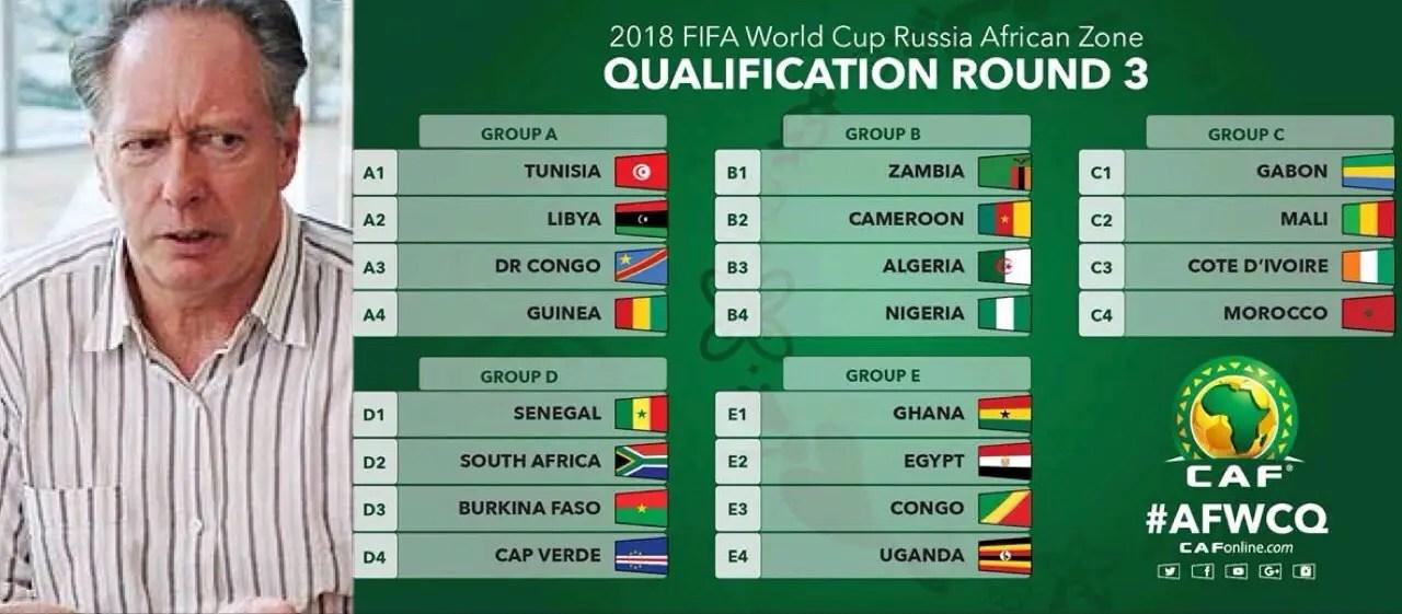 Bonfrere Jo: Nigeria Will Qualify For Russia 2018 World Cup