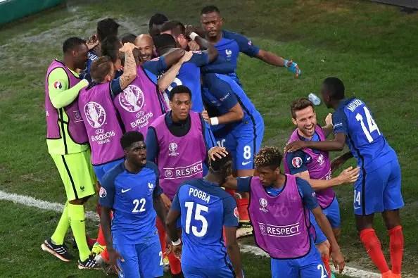 Griezmann Brace Takes France Past Germany Into Final